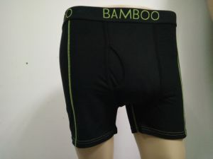 Bamboo Black Men′s Boxer Brief pictures & photos