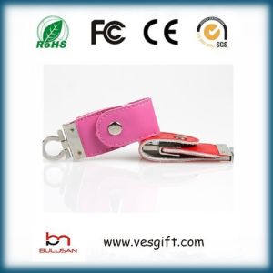 2GB 4GB 8GB 64GB Leather USB Flash Drive pictures & photos