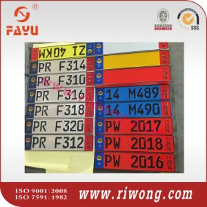 China Euro Car Number Plates European Car Number Plates China