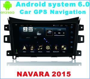 Android System 6.0 Car GPS for Navara 2015 with Car Stereo