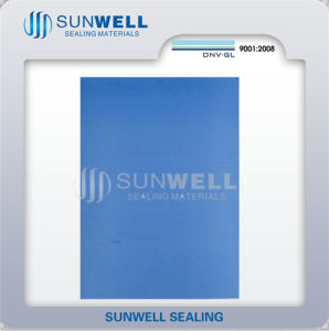 Modified PTFE Sheet Blue Color (SUNWELL MF4354) pictures & photos
