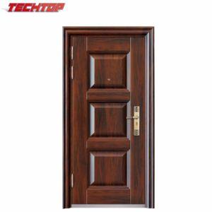 TPS-008 China High Quality House Main Door Design Single Steel Doors Models