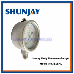 All Ss High Quality Liquid Filled Pressure Gauge