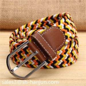 Colorful Elastic Webbing Belt for Men