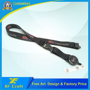 Cheap Custom Tabby Printed Ribbon with Plastic Clip (XF-LY09) pictures & photos