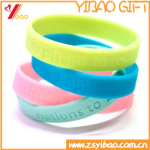 Fashion Silicone Wristband of Silicone Bracelet Jewelry (XY-HR-103) pictures & photos