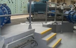 GRP Fiberglass Anti-Slip Stair Nosing pictures & photos