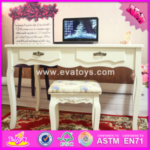 2017 Wholesale Fashion Wooden Bedroom Vanity Furniture, Solid Wooden Youth Bedroom Vanity Furniture W08g192 pictures & photos