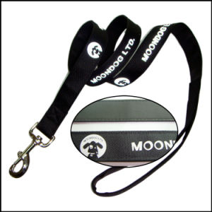 Custom Printed Logo Polyester/Nylon Pet/Cat/Dog Leash for Dogs pictures & photos