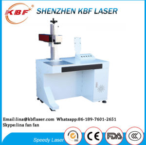 Cellphone Optical Fiber Laser Marking Machine pictures & photos