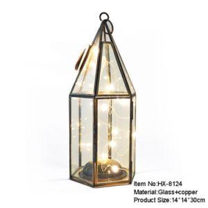 China Newest Glass Storm Lantern Manufacturer China Terrarium