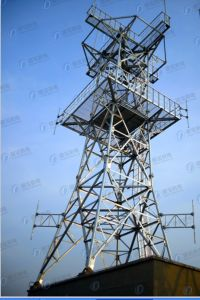 HDG Tubular Lattice Tower for Communication