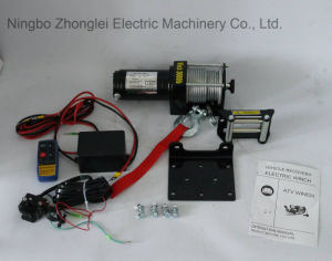 DC 12V Recovery Electric Winch Auto Winch (2000LB-3)