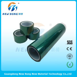Transparent Green Color Pet High Temperature Adhesive Tape pictures & photos