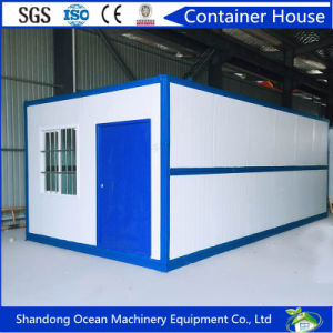 Prefabricated Easy Assembly Foldable Container House of Sandwich Wall Panel and Steel Structure pictures & photos