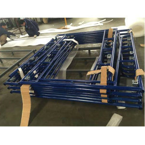 Walkthrough Frame Scaffolding with Blue Powder Coated pictures & photos
