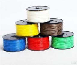 Colorful 3mm ABS 3D Printer, 3D Printing Pen Filament, 3D Printer Materials, 1kg, 2kg, 5kg/Unit