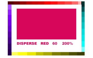 Dyestuff (Disperse Red 60)