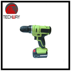 14.4V DC New Design Mobile Power Supply Lithium Battery Cordless Drill pictures & photos