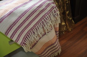 Woolen Woven Travel Wool Throw (NMQ-WT044) pictures & photos