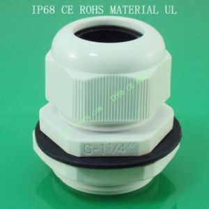 Plastic Nylon Cable Gland G Series, Waterproof, Dustproof, IP68, CE, RoHS
