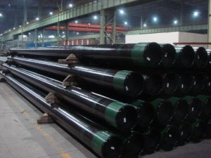 API-5CT Casing Pipe with Thread Btc, Ltc, Stc and Steel Grade J55 / K55 / N80 / L80 / C95 / P110