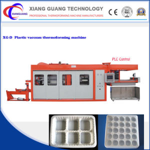 Automatic Plastic Container Vacuum Making Machine with Servo Motor