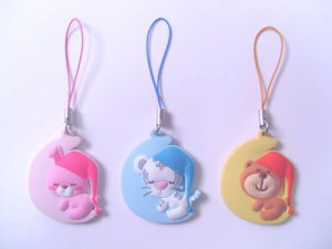 Custom PVC Mobile Phone Strap