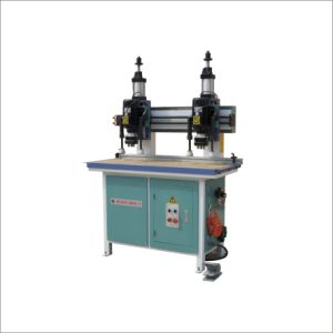 Vertical Double Head Hinge Machine (MZ73032)