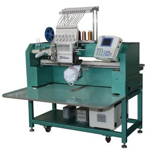 Single Head Cap/Tubular Computerized Embroidery Machine (RPED-TC-1201-520X450)