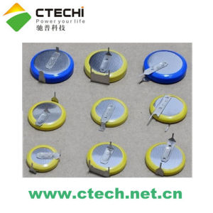 Button Cell Battery With Pins/Tags