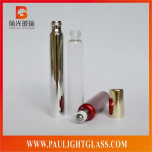 15ml Electroplating Glass Perfume Bottle with Roll on Cap or Pump
