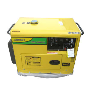 Silent Type 5kw Diesel Generator (WKD6500CE) with CE Soncap