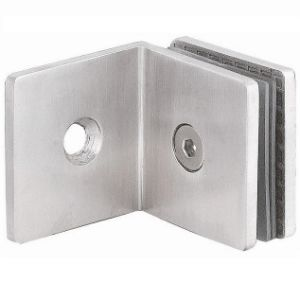 90 Degree Bathroom Partition Glass Fixing Hardware for Bathroom (SH-0440)