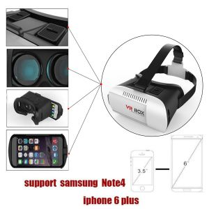 Vr Virtual Reality Headsets 3D Glasses Vr Box for 4 to 6 Inch Smartphone pictures & photos