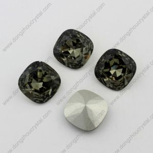 Black Diamond Rhienstone Garment Stone for Wholesale pictures & photos