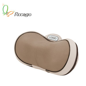 Kneading Heating Neck Back Massage Pillow for Office Car Use pictures & photos