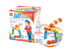 Plastic Musical Toy Baby Basketball Game (H0001253) pictures & photos