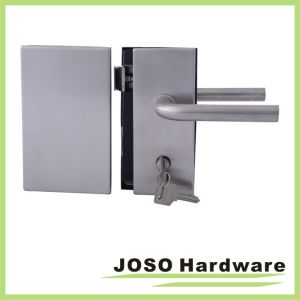Center Lock & Strike for Interior Tempered Glass Doors pictures & photos