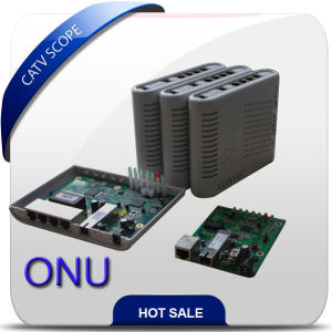 High Performance 4fe ONU, WiFi, VoIP CATV for Option