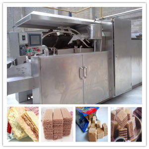 Gas Oven Wafer Biscuit Machine Suppliers pictures & photos