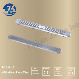 Stainless Steel Hardware Decorative Accessories Blind Man Floor Tiles
