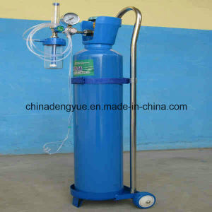 Professional Manufacturer Approved Small Portable Oxygen Cylinder with Cylinder Caps pictures & photos