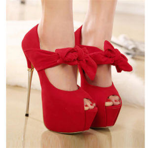 Cute Bowknot Sexy High Heel Pumps