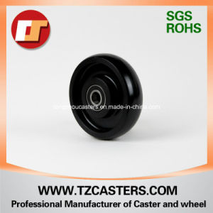 Black Nylon Wheel with Ribs pictures & photos