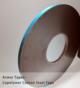 Armor Tape Copolymer Coated Steel Tape for Fiber Cable Use