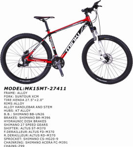 650b Wheels 27.5 Inch Mountain Bicycle MTB (MK15MT-27411) pictures & photos