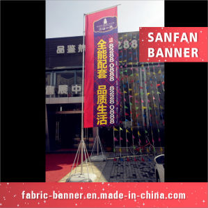 Popular Customized Advertising Water Injection Flag