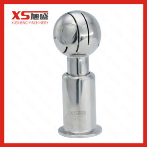 Stainless Steel SUS304 SUS316 Sanitary Ferrule Ends Rotary Washing Nozzle pictures & photos