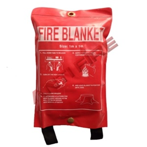 Fire Blanket with Soft PVC Bag Package, Xhl13001 pictures & photos